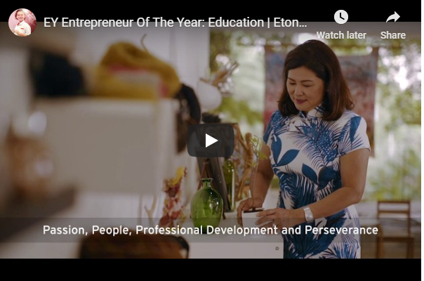 Ernst & Young Entrepreneur Of The Year: Education