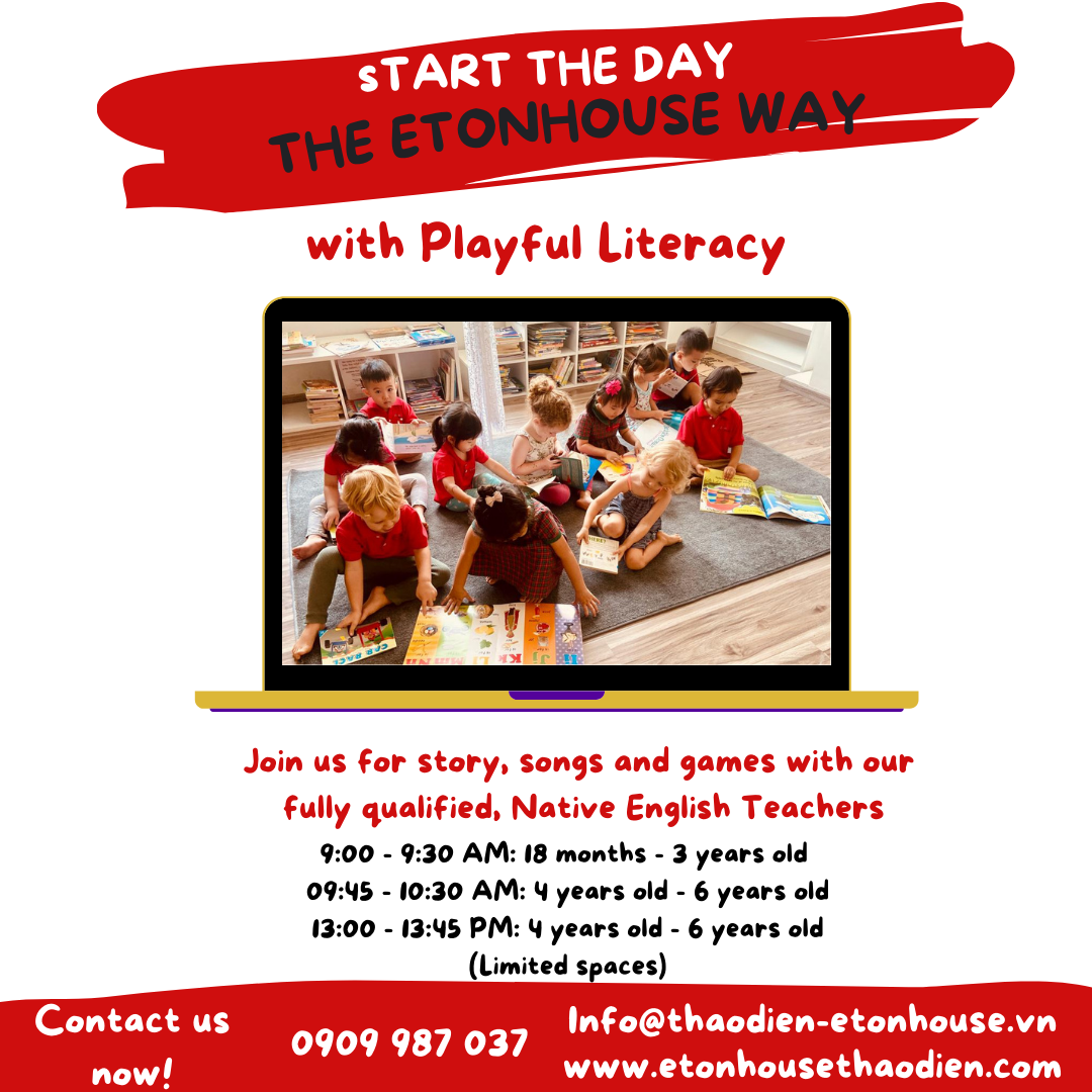Online Playgroup and Playful Literacy2021